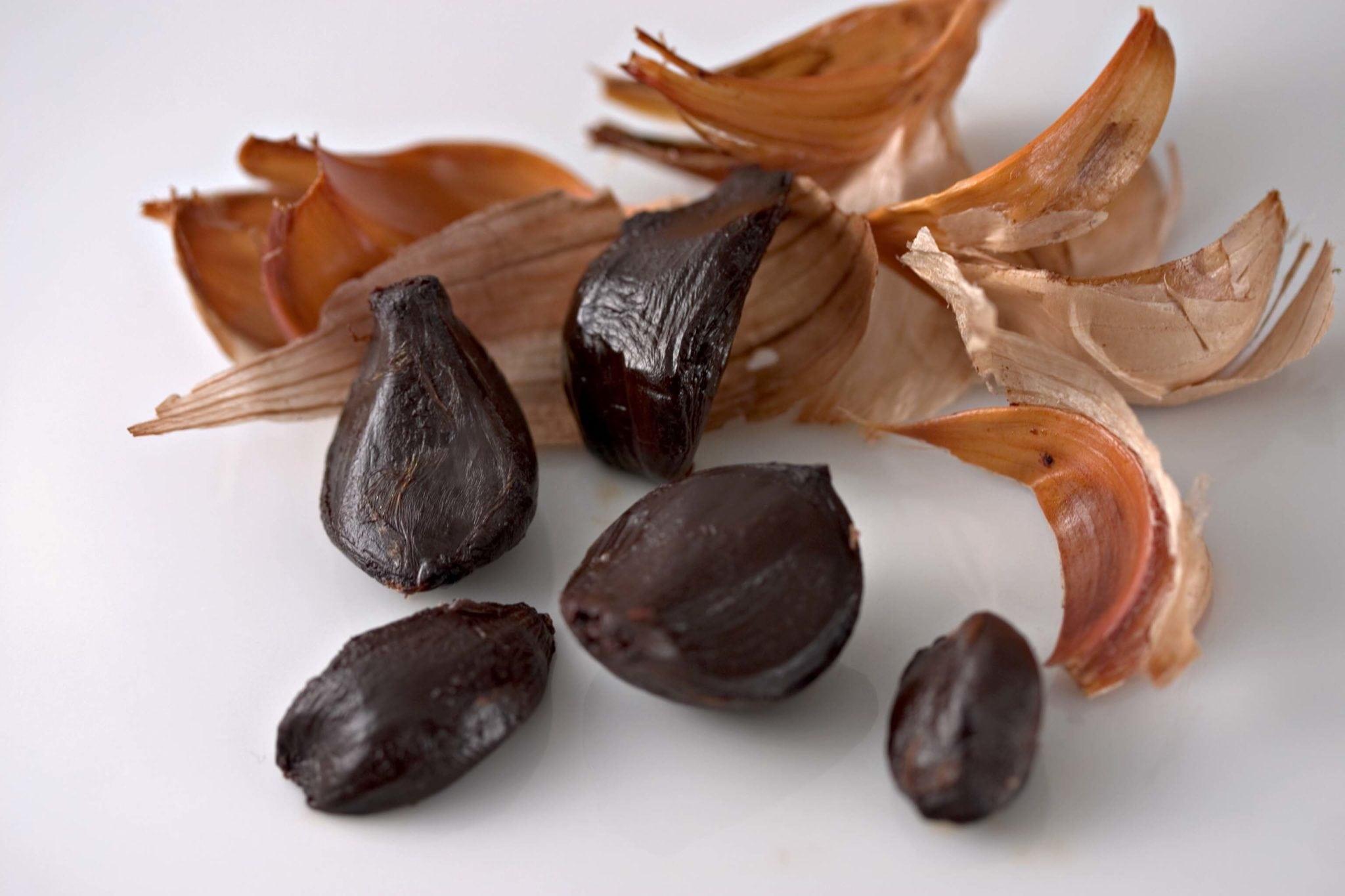 Los beneficios del ajo negro