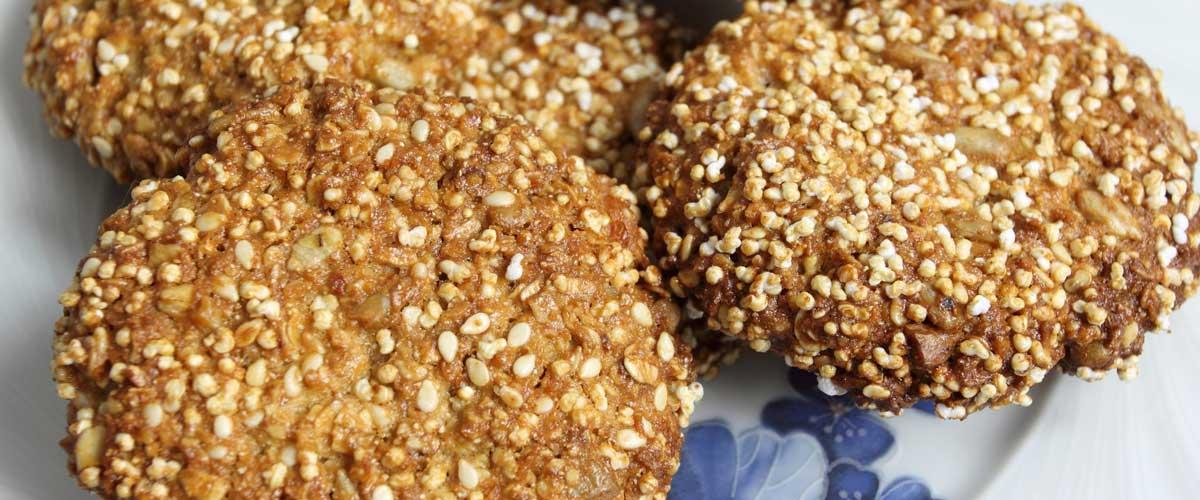 Prueba estas originales galletas de amaranto