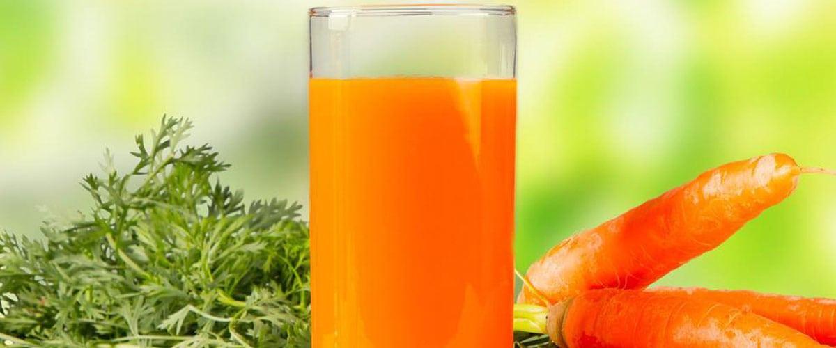 Jugo de zanahoria cuida tu piel y tus ojos