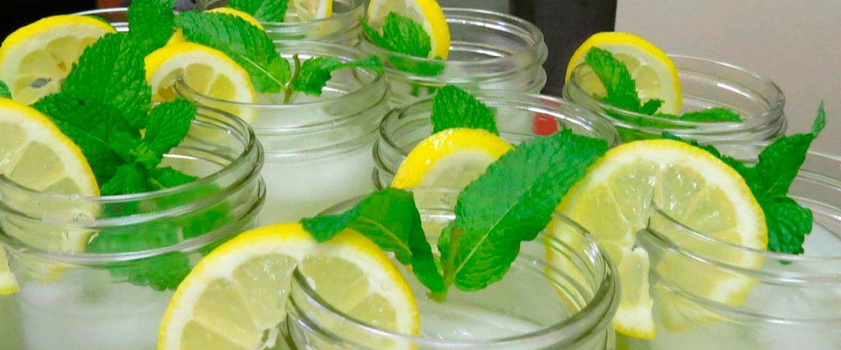 Regula tu peso con mezclas que activen tu metabolismo: limón, menta y jengibre