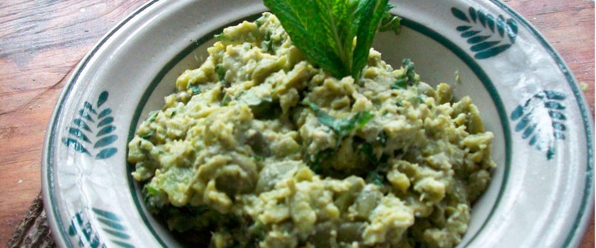 Reduce el colesterol con una sopa de habas