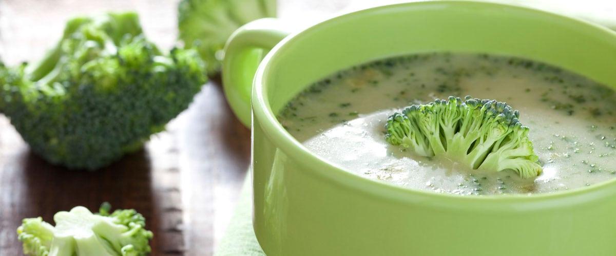 Aprende a realizar tu propia sopa fría de brocolí