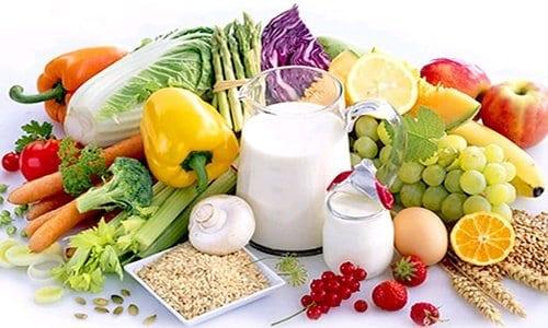 Tabla alimentos con calcio