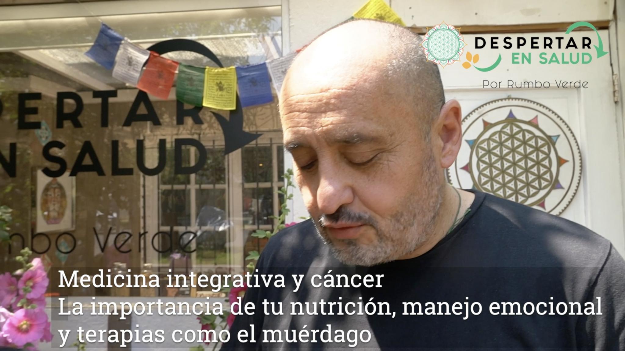Carlos logró vencer un agresivo cáncer sumando medicina integrativa y un profundo cambio de hábitos